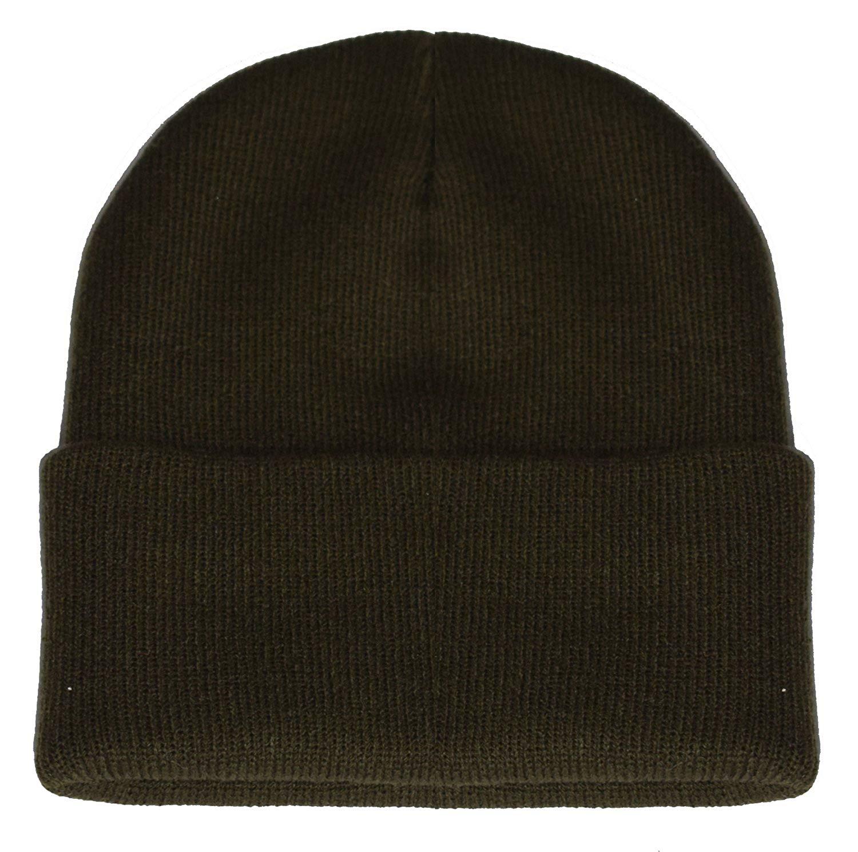 cb42464c93bb8 Get Quotations · PZLE Olive Green Cap Nice Caps Beanie Mens Hats Olive Hat  Knit Hats Cap Olive