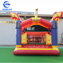 Saloon airflow bouncer,commercial inflatable bouncer house for kids
