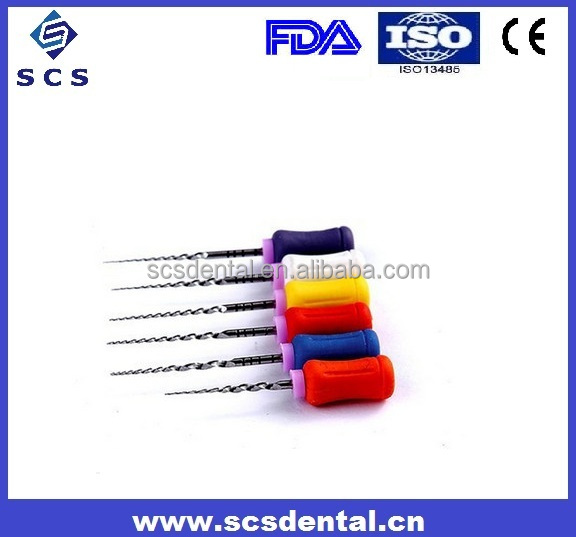 Dental rotary protaper files/large taper hand use/super files