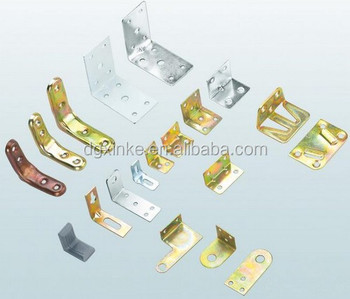 Standard Customized Sheet Metal Stamping Color Plated