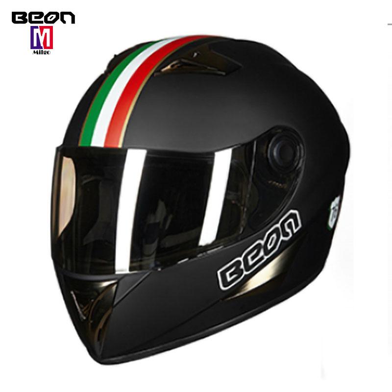34 cara Motocicleta vespa Vintage negro mate casco de (L)