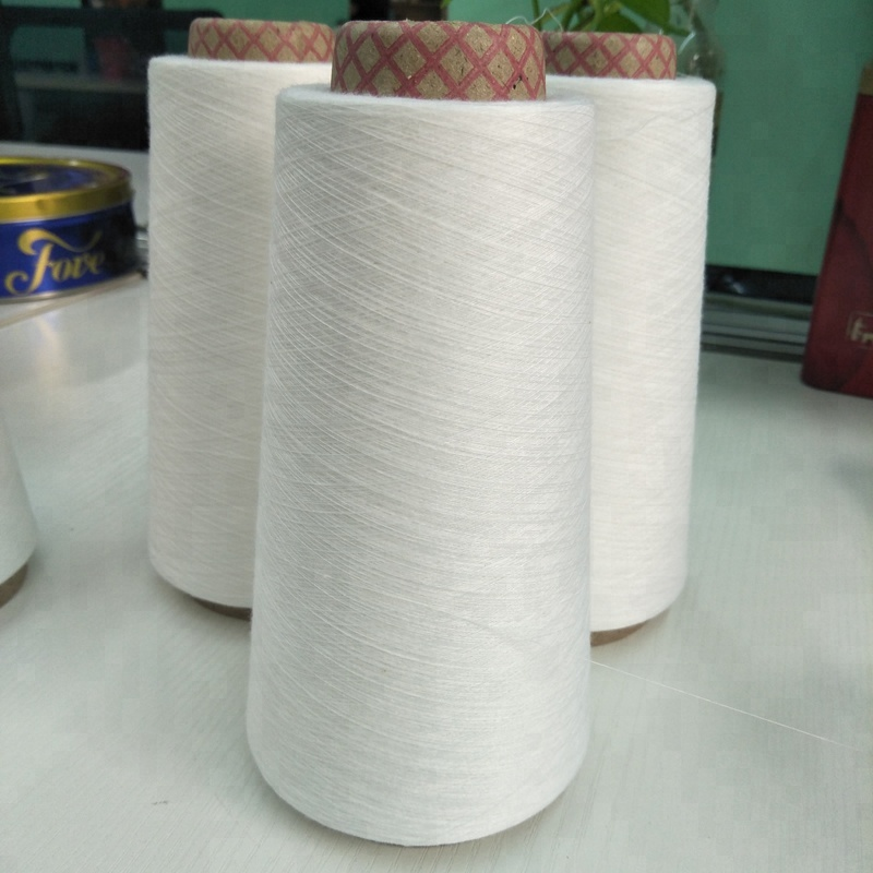 Nhidi Hebei factory virgin 100% polyester spun weaving yarn