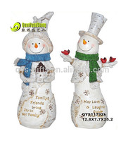 Resin large snowman decorations ornament