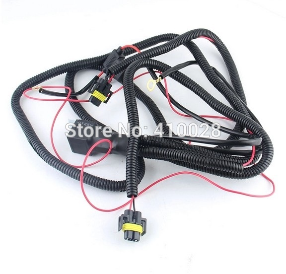 H Relay Wiring Harness on