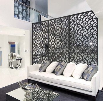 Sanseng Laser Cut Stainless Steel Living Room Partition Design Buy