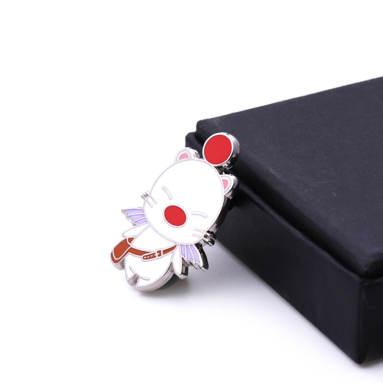 Wholesale cheap custom  high quality colorful hard enamel lovely cat  cartoon lapel pin