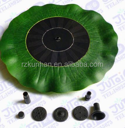 Eco-friendly Garden Brushless floating high head solar water pump