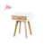 Aide High Quality Modern Style Small Wooden Nightstand Bedroom furnitureWith Drawers