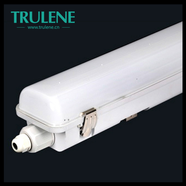 36w t5 water proof led trip-proof light supermarket surface mounted fluorescent lighting fixtures