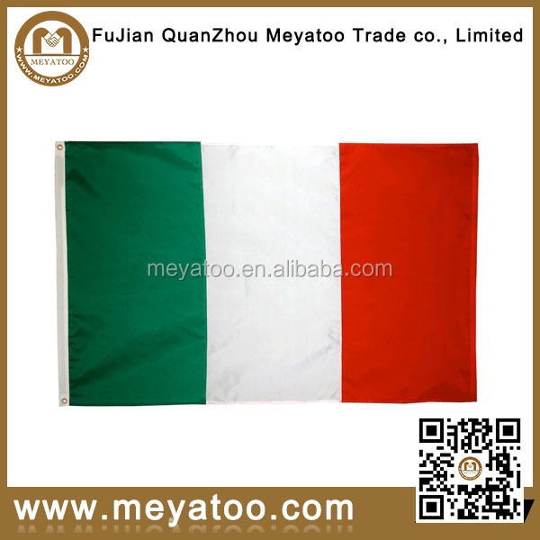 Italian flying flag for national big flags banners
