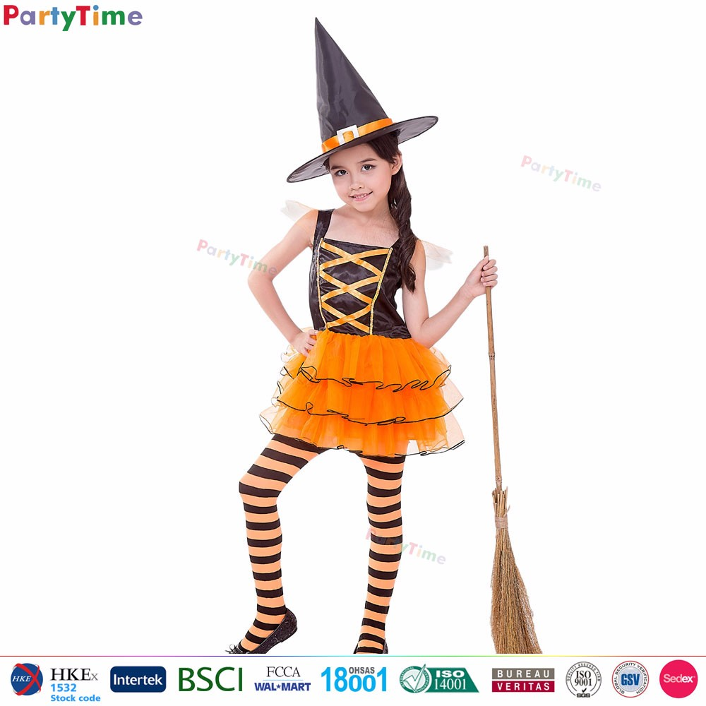 f8037f50dea Party Time Brand Hot Sale Kids Orange Timeless Witch Cosplay Halloween  Witch Costumes For Girls - Buy Witch Halloween Costumes,Witch Costumes For  ...