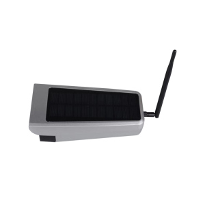 solar powered wireless outdoor ip camera