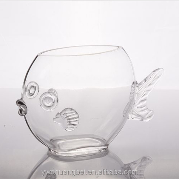 Unique Terrarium Decorative Mini Unique Fish Bowls Fish Shape Glass Aquarium Buy Fish Shaped