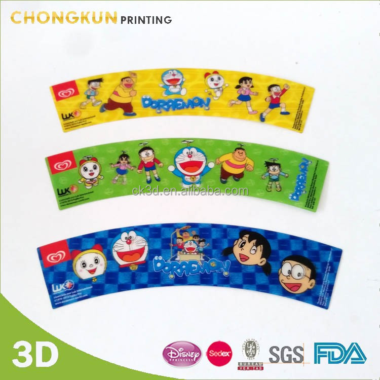 Best Selling Cartoon Printing Plastic Cup 3D Printing suitable for promotion