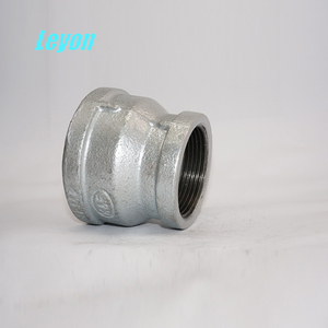 "1"" Npt Socket Galvanized Malleable Iron Fittings Concentric Female Reducing Socket Welding Pipe Fitting"