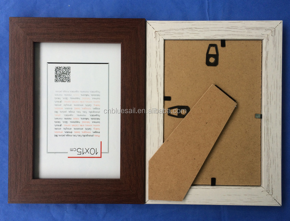 Mdf Paper Wrapped Photo Frame,Cheap Wooden Frame,4x6\