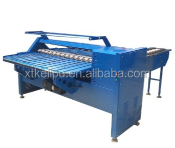 Egg sort machine and egg code printer