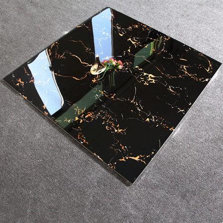 Super schwarz marmor fliesen design glasierte poliert ...