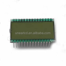 Custom 7 segment lcd display price tag UNLCD20670