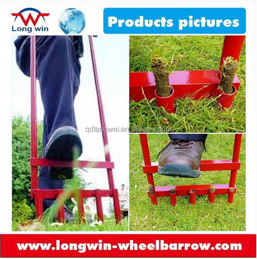 Hollow Tine Garden Lawn Aerator For Garden Lawn Care Buy Garden