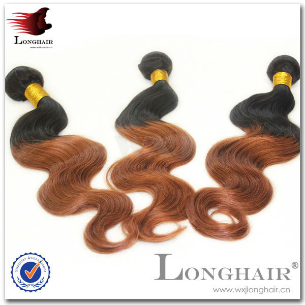 Latest Designed Ombre Russian Human Hair Weaving
