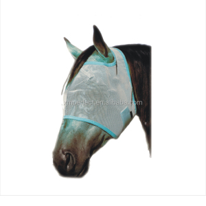 Fashion UV Protection Horse Equipment Equestrian Horse Fly Mask
