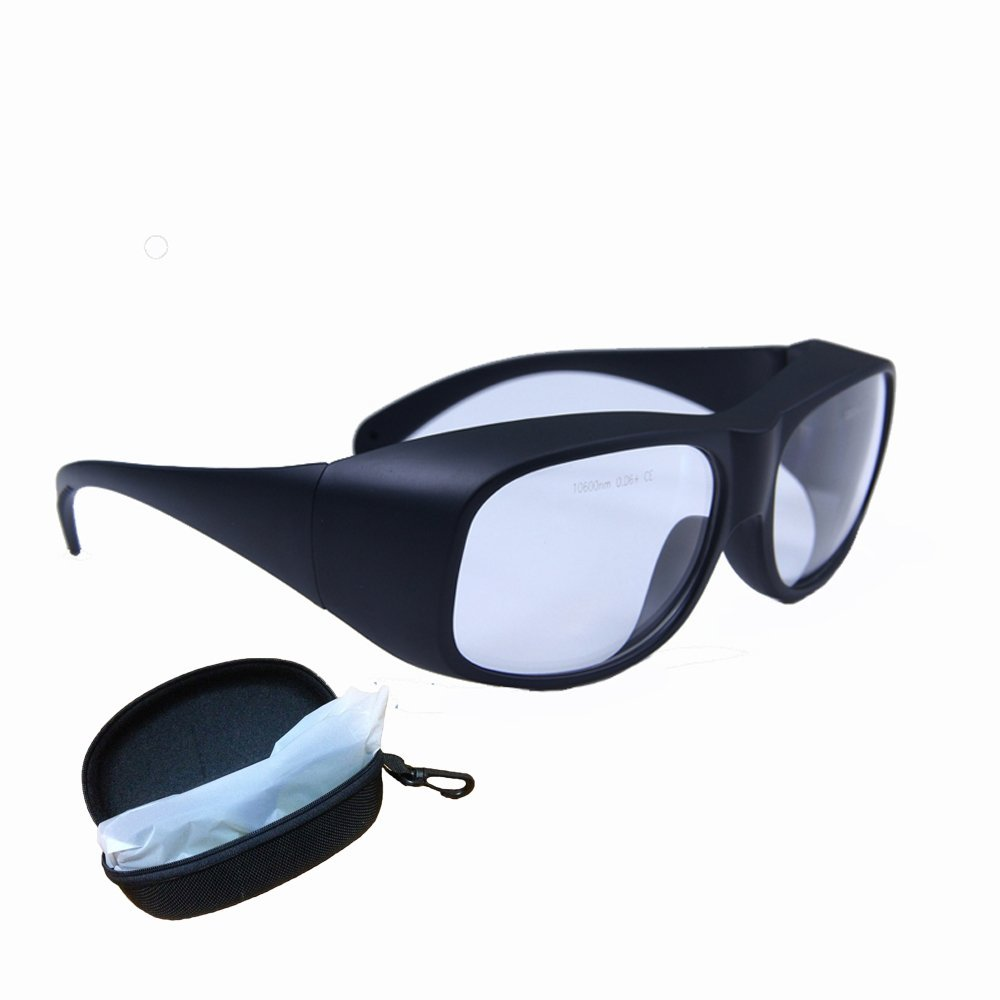 5e098d3605 Get Quotations · CO2 Laser Protection Glasses 9000-11000nm Laser Safety  Glasses Goggles