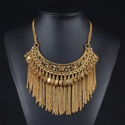 fashionable citi trends jewelry 2015 trend fashion europe jewelry fashionable brass silver tassel necklace
