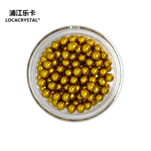 LOCACRYSTAL Brand 2.8mm Round Shape No Hole Low Price Loose Pearl Bead