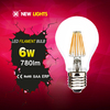 2016 best selling hot chinese products new 360 degree A60 8 w filament led globe e27 dimmable