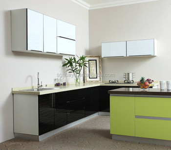 Metal Lacquer New Model Kitchen Furniture Kitchen Cabinet Simple Design