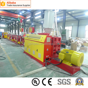 Top grade new products single screw extruder with palletizer