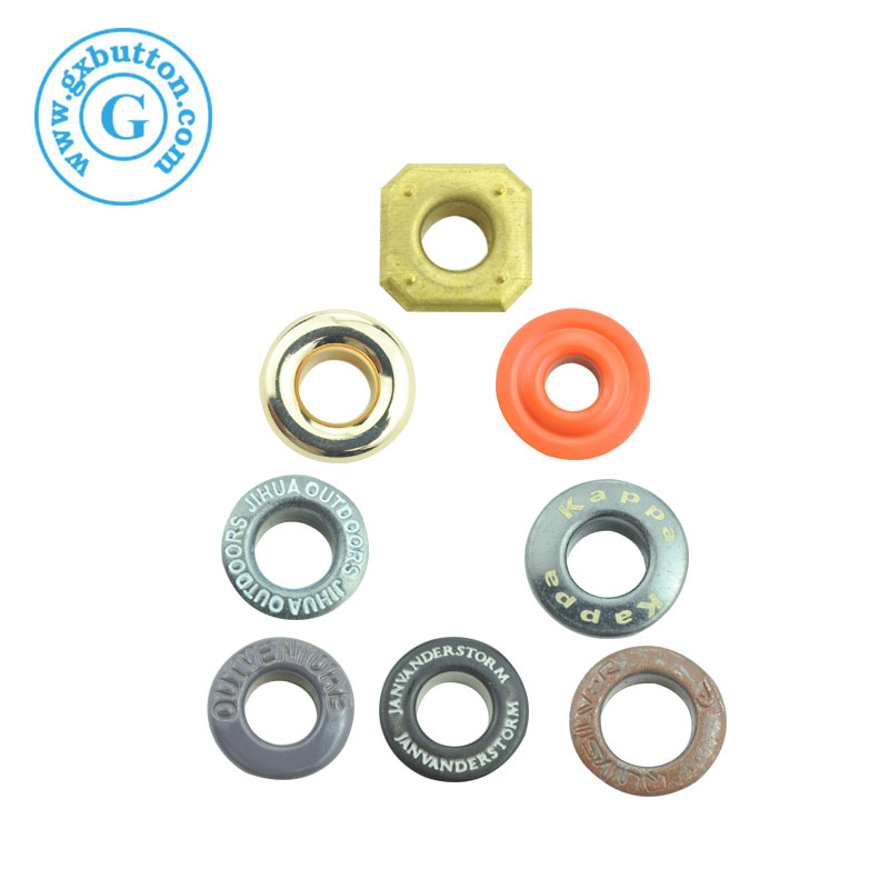 Popular decorative metal hoodie eyelets and grommets for curtains