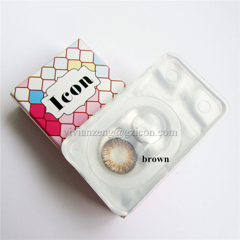 Cheap color contact lens good selling fancy color contact lens