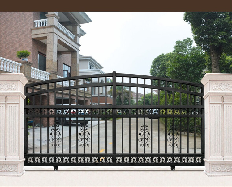 Gate 001 Latest Simple Iron Sliding Indian House Main Gate Designs