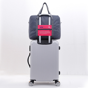 Custom light weight folding travel folding bags for travel+bags luggage bag travel luggage