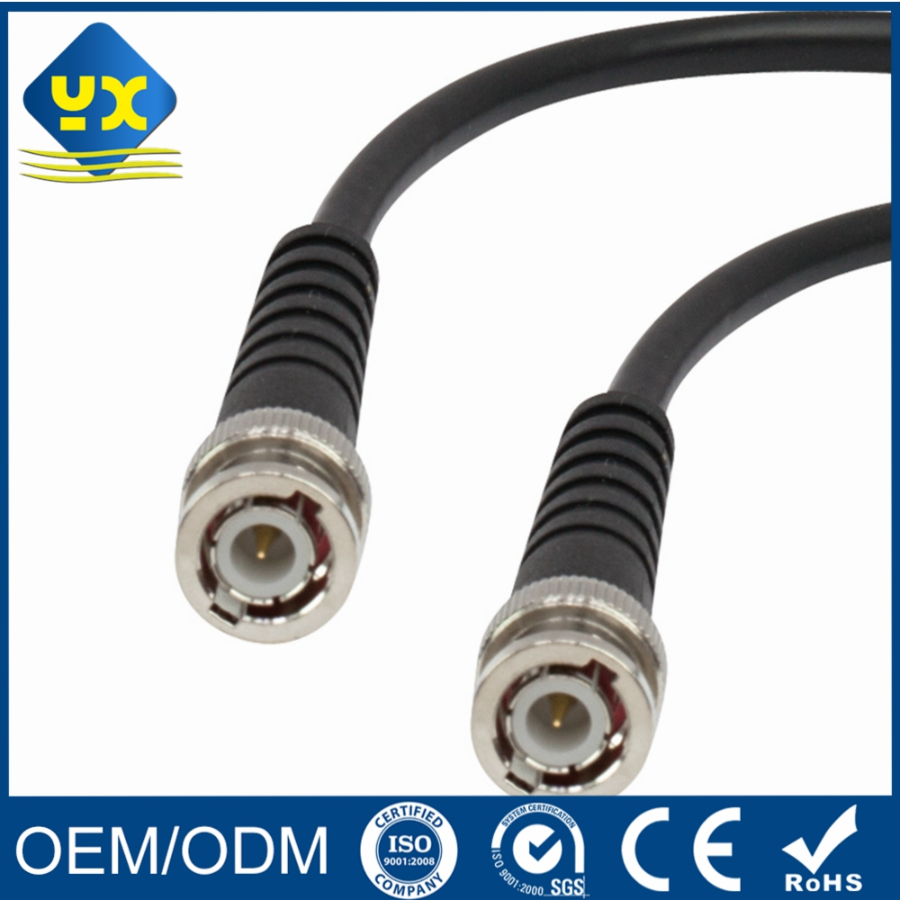 BNC Male to Male Patch Cord RJ59 Coaxial Jumper Cable CCTV Assembly Cable