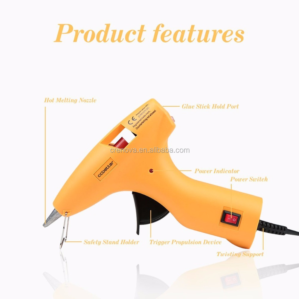 Power Tools 30W Mini Hot Glue Gun for DIY Crafts Making and Daily Quick Repairs