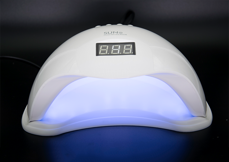 Good quality Electric Automatic SUN 5 48W digital manicure machine polish LED lamp nail dryer