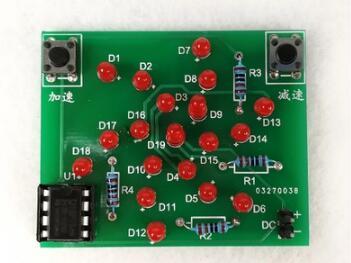 Groovy Windmill Flashing Electronic Circuit Diagram Diy Electronic Kit Wiring Database Cominyuccorg