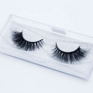 Private Label 3D mink eyelashes vendor Curl Individual Silk Flat Lashes, Wholesale 100% Hand Made 3D Silk Eyelash