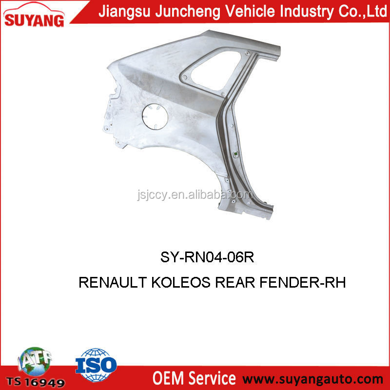 Renault Koleos Rear Fender For Metal Body Aftermarket Parts