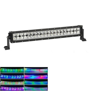 12V offroad led light bar for SUV,UTV RGB car led lights Suv red green yellow blue white