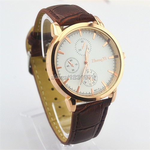 Gold,Silver Cheap Fashion leather mens ladies unisex retro ...