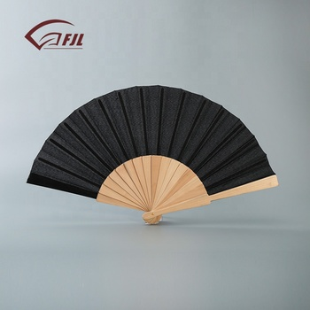 High Quality Company Wedding Fan Price Birthday Party Decorations Wooden Hand In Folk Crafts
