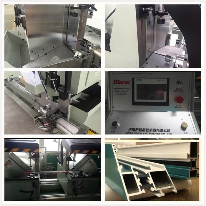 Double-head Cutting Saw / Window Machinery