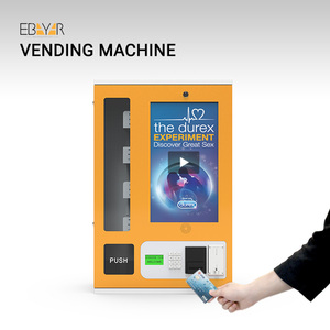 Combo Mini Vending Machine For Cigarette And Condom