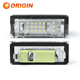 White/Blue,CE Rohs Emark approved, Canbus Of NewLED Car Light ProductS Of 18SMD LED License Plate Light For B.MW E39 5D
