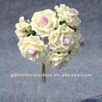 Artificielle Floral De Mousse De Mariage Rose Fleur Arrangements