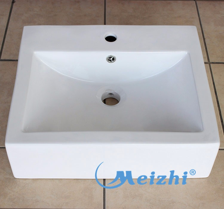 Bathroom sanitary ceramic art wash basin stand